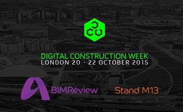 BIMReview at Digital Construction Week